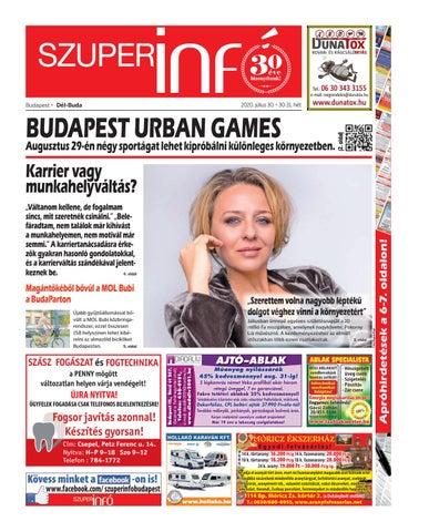Dél-Buda 2020.07.30.