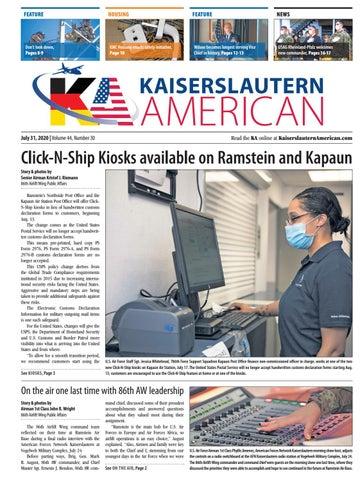 Kaiserslautern American - July 31, 2020