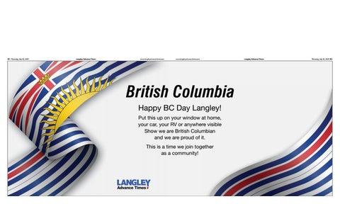 July 30, 2020 Langley Advance Times