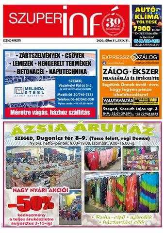 Szeged 2020.07.31