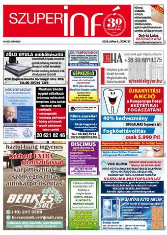 Hajduszoboszlo 2020.07.03