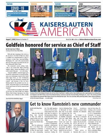 Kaiserslautern American - August 7, 2020