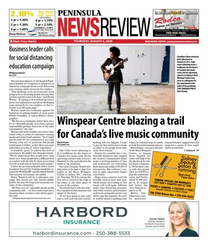 Peninsula News Review, August 6, 2020