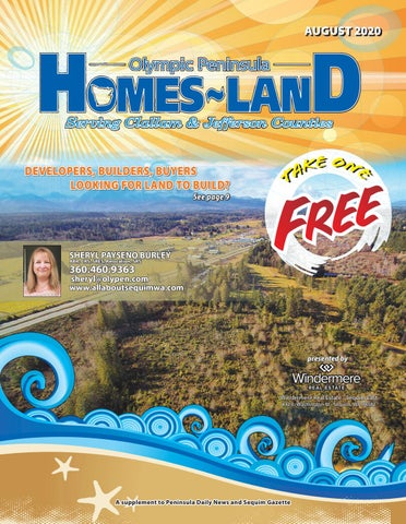 Homes-Land Olympic Peninsula August 2020