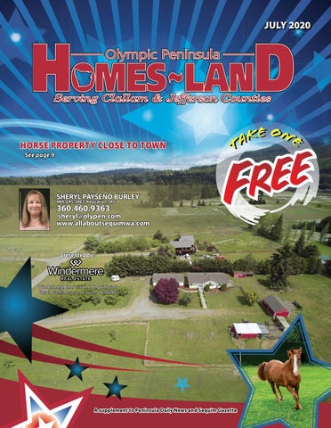 Homes-Land Olympic Peninsula July 2020