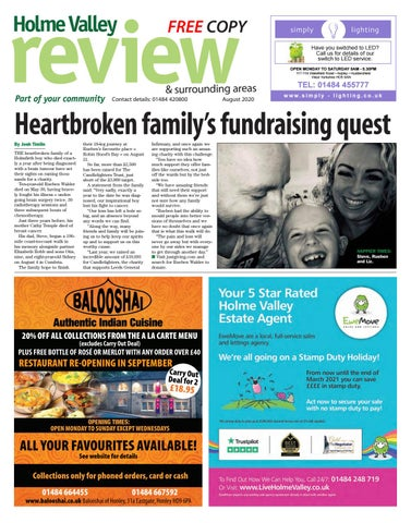 Holme Valley Review, August 2020
