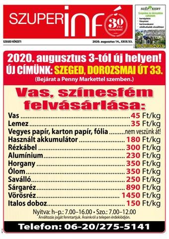 Szeged 2020.08.14