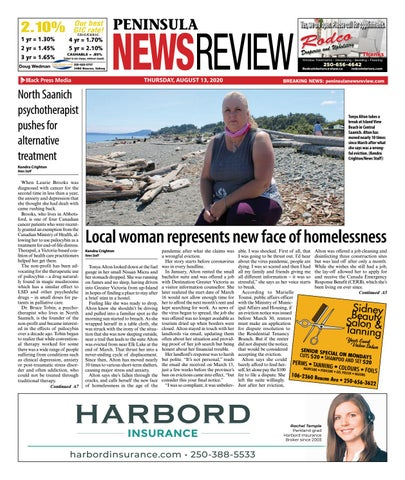 Peninsula News Review, August 13, 2020