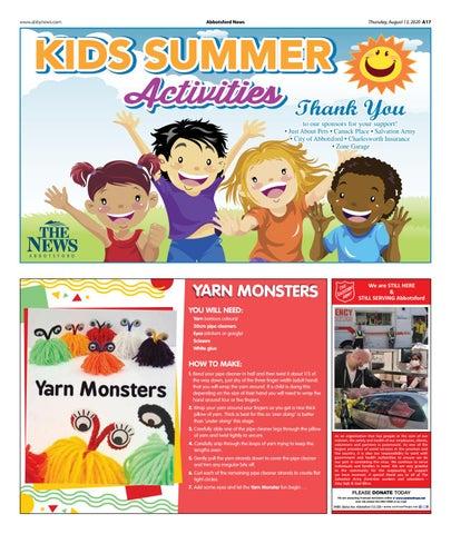 Kids Activities for Summer August 2020