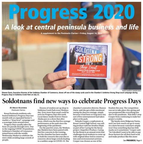 August 14, 2020 Peninsula Clarion