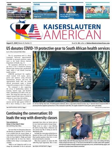 Kaiserslautern American - August 21, 2020