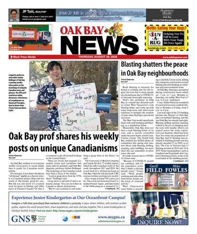 Oak Bay News, August 20, 2020