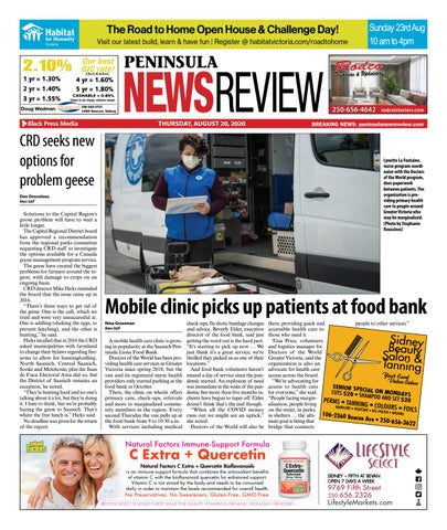 Peninsula News Review, August 20, 2020