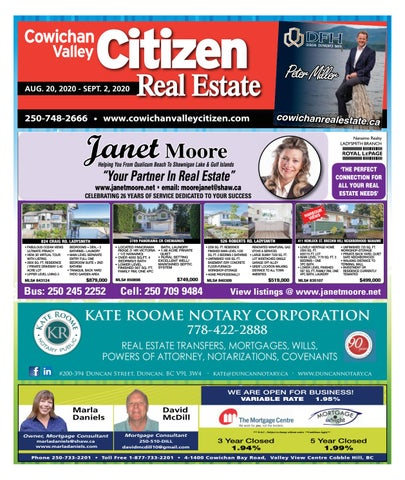 August 20, 2020 Cowichan Valley Citizen