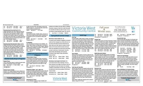 August 20, 2020 Victoria News