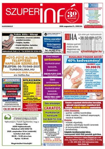 Hajduszoboszlo 2020.08.21