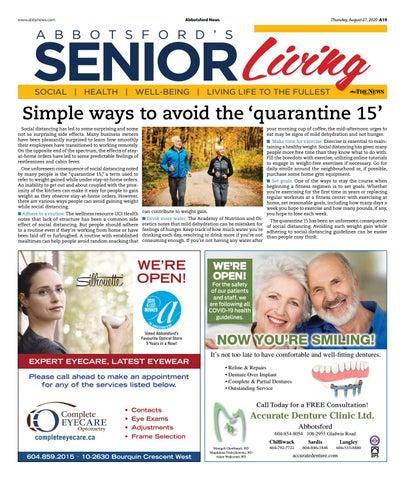 Senior Living August 2020