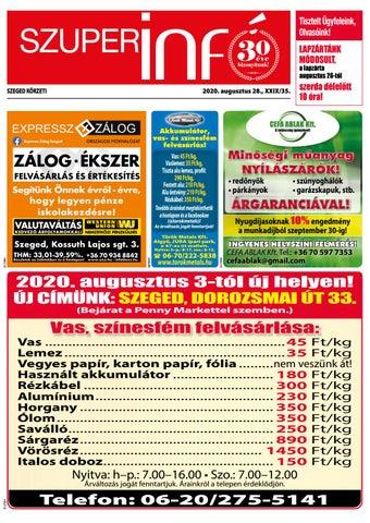 Szeged 2020.08.28