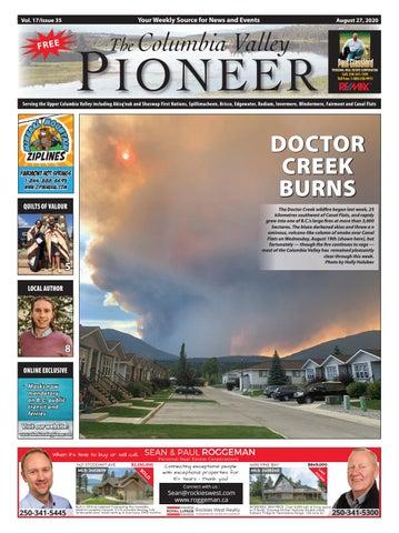 Columbia Valley Pioneer, August 27, 2020