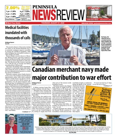 Peninsula News Review, August 27, 2020
