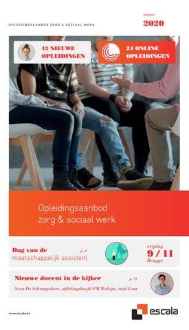 Escala opleidingsaanbod zorg & sociaal werk najaar 2020