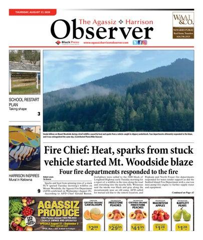 Agassiz Observer, August 27, 2020