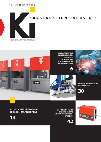 Konstruktion-Industrie | 38 - September 2020