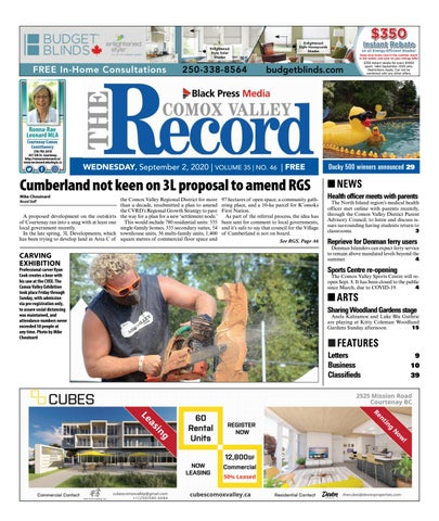 Comox Valley Record, September 2, 2020