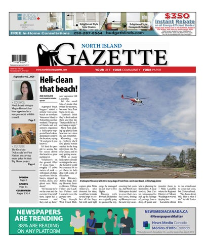 North Island Gazette, September 2, 2020
