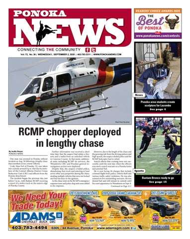 Ponoka News, September 2, 2020