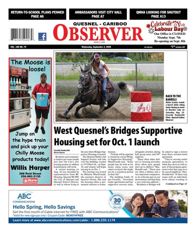Quesnel Cariboo Observer, September 2, 2020