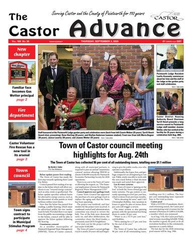 Castor Advance, September 3, 2020