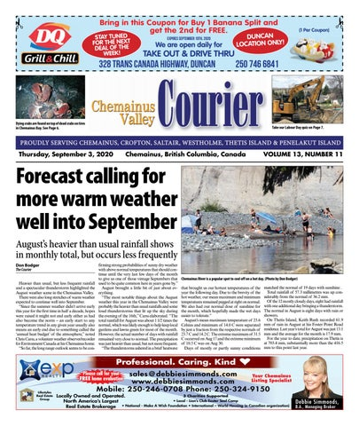 Chemainus Valley Courier, September 3, 2020