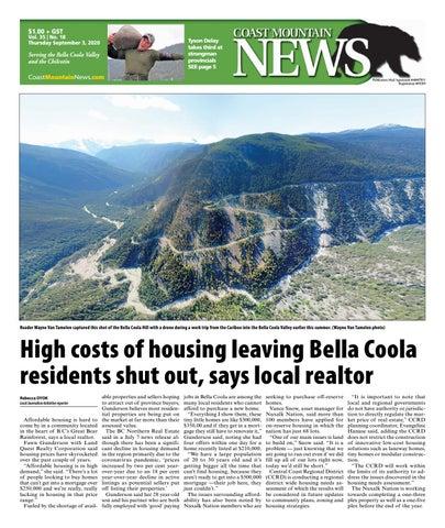 Coast Mountain News, September 3, 2020