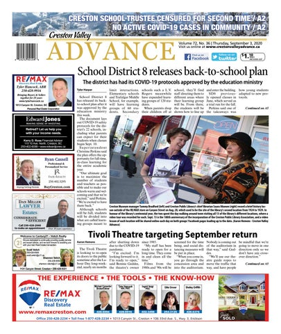 Creston Valley Advance, September 3, 2020