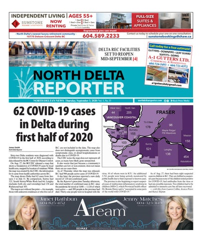North Delta Reporter, September 3, 2020