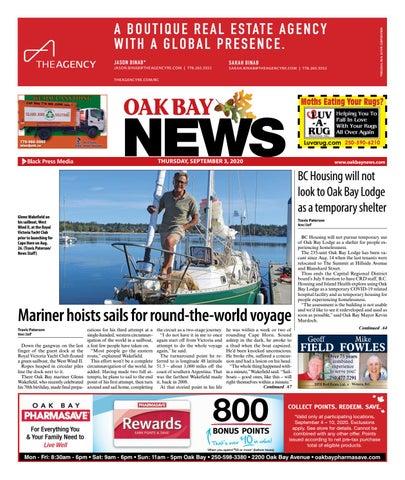 Oak Bay News, September 3, 2020