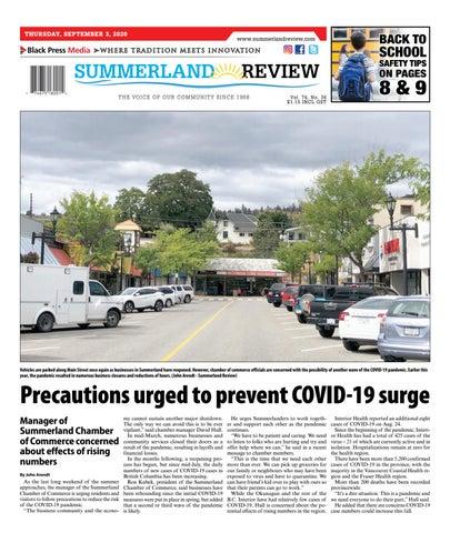 Summerland Review, September 3, 2020