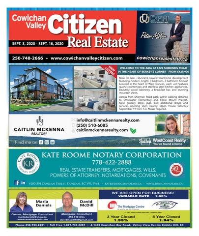 September 03, 2020 Cowichan Valley Citizen