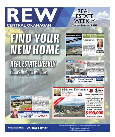September 03, 2020 Kelowna Capital News