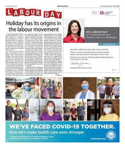 Celebrating Labour Day 2020
