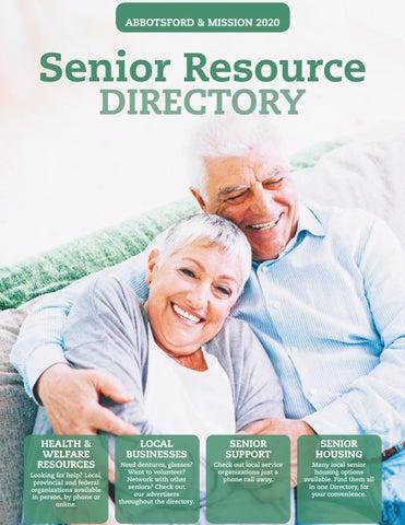 Abbotsford Mission Seniors Directory 2020-2021