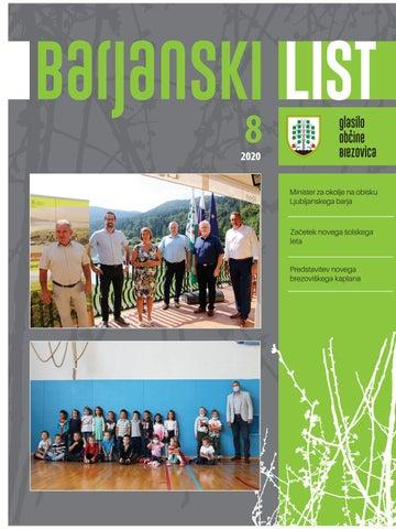 Barjanski list avgust 2020