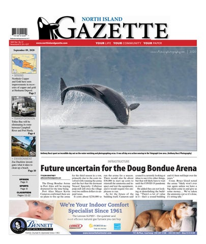 North Island Gazette, September 9, 2020