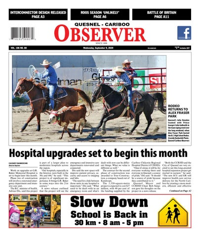 Quesnel Cariboo Observer, September 9, 2020