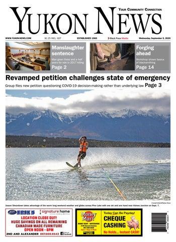 Yukon News, September 9, 2020
