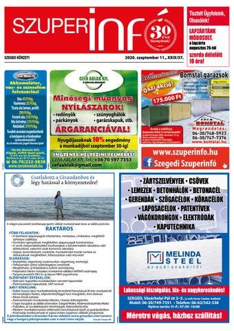 Szeged 2020.09.11