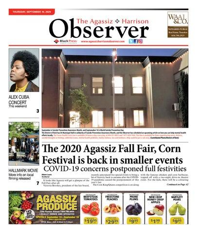 Agassiz Observer, September 10, 2020
