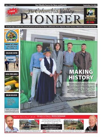 Columbia Valley Pioneer, September 10, 2020