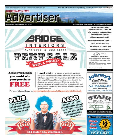 Cranbrook Daily Townsman, September 10, 2020